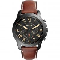 Mens Fossil Grant Chronograph Watch FS5241