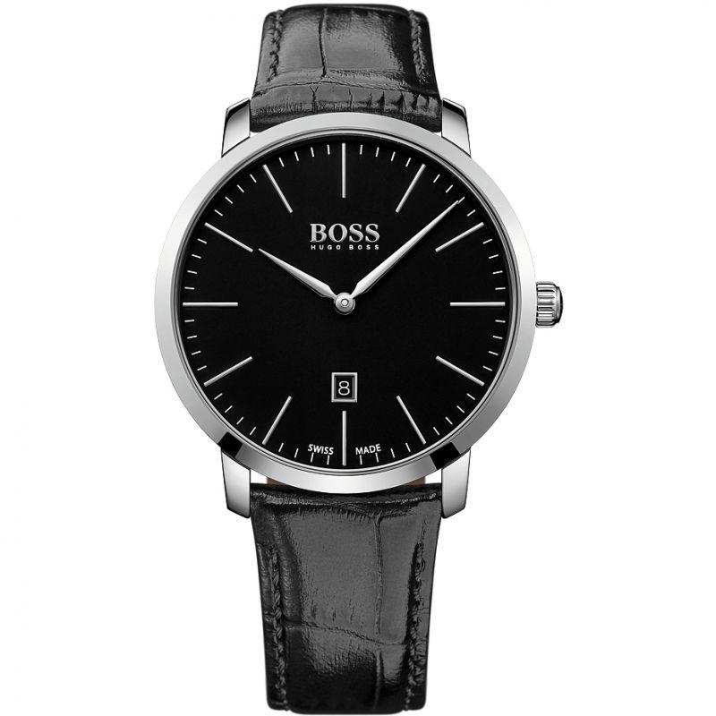 Mens Hugo Boss Swiss Made Slim Watch