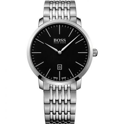 Mens Hugo Boss Swiss Made Slim Watch 1513259