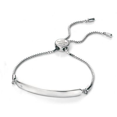 Bijoux Enfant D For Diamond ID Toggle Bracelet B4788