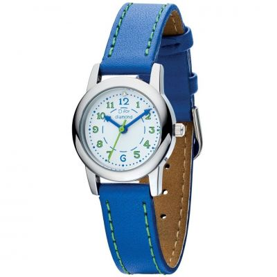 Childrens D For Diamond Stainless Steel Watch Z1023