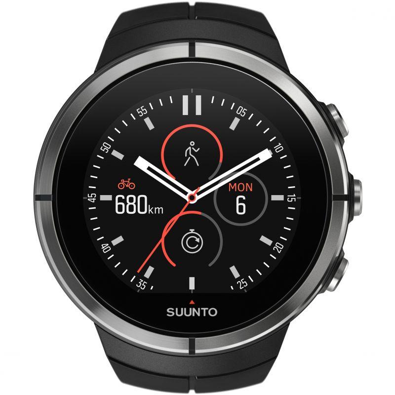 Unisex Suunto Spartan Ultra Ultra Black HR Bluetooth Alarm Watch