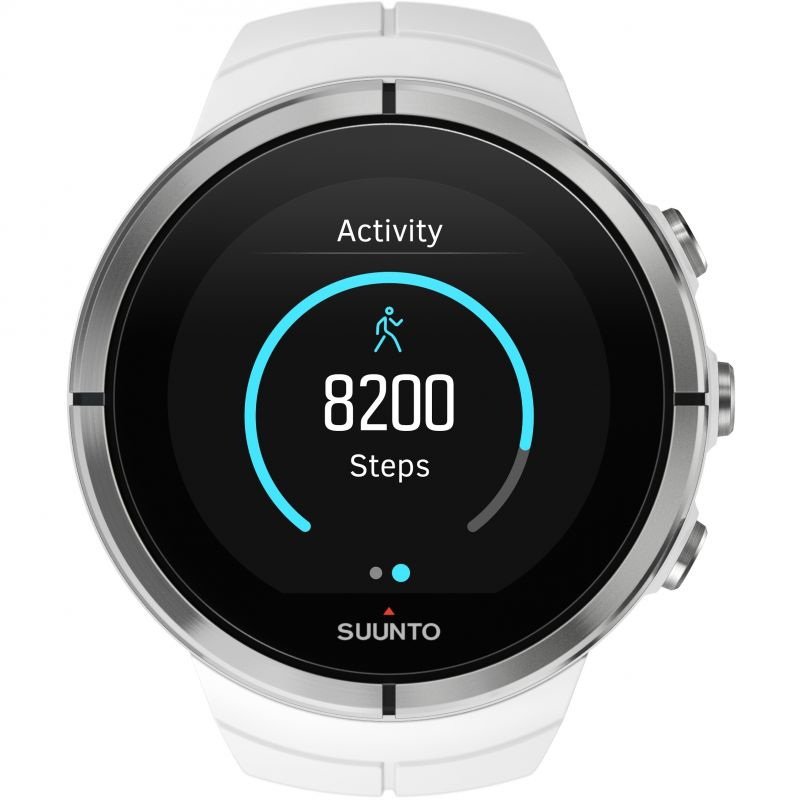 Unisex Suunto Spartan Ultra Ultra White HR Bluetooth Alarm Chronograph Watch