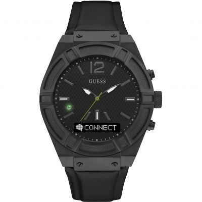 Guess Connect Bluetooth Hybrid Smartwatch Herrenuhr in Schwarz C0001G5