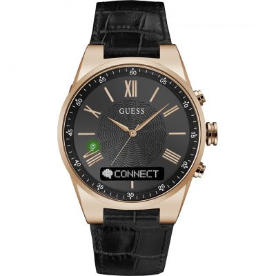 Guess Connect Bluetooth Hybrid Smartwatch Unisexuhr in Schwarz C0002MB3