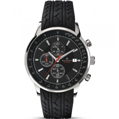 Mens Accurist Chronograph Watch 7001