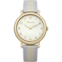Ladies House Of Florrie Violet Stripe Watch HF002UG