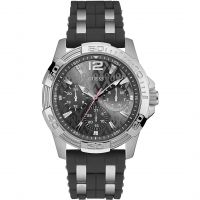 Mens Guess Sporting Pink Exclusive Watch