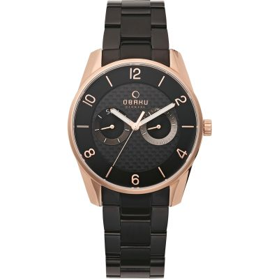 Mens Obaku Flint Watch V171GMVBSB