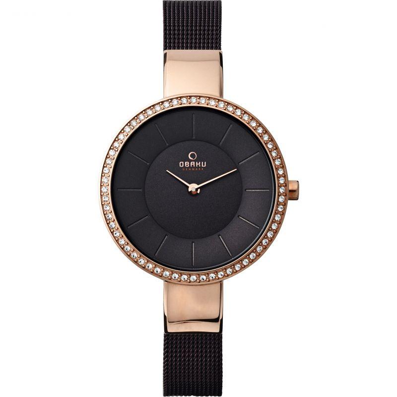 Ladies Obaku Sol Glimt Watch