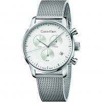 Mens Calvin Klein City Chronograph Watch K2G27126