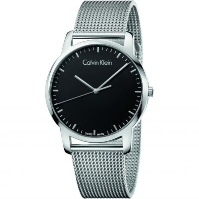Calvin Klein City Herrenuhr in Silber K2G2G121