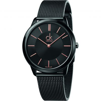 Mens Calvin Klein Minimal 40mm Watch K3M21421
