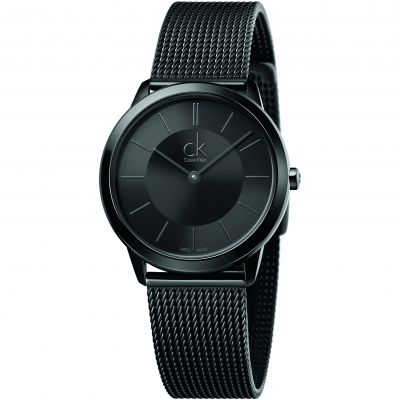 Mens Calvin Klein Minimal 35mm Watch K3M224B1