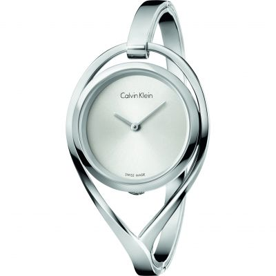 Ladies Calvin Klein Light Small Bangle Watch K6L2S116