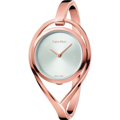 Ladies Calvin Klein Light Small Bangle Watch K6L2S616