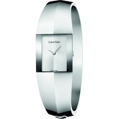 Ladies Calvin Klein Shape Small Bangle Watch K7C2S116