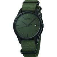 Mens Calvin Klein Tone Watch