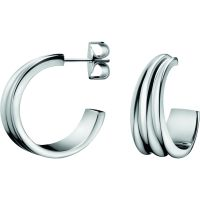 Ladies Calvin Klein Stainless Steel Glorious Earrings KJ4SME000100