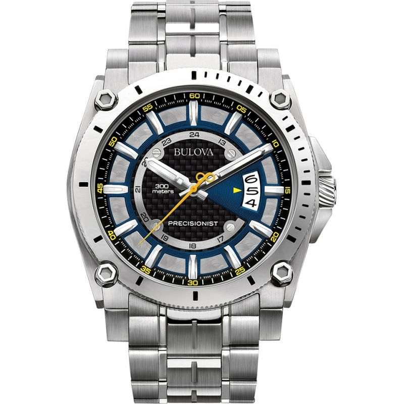 Mens Bulova Precisionist Watch 96G131
