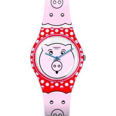 Unisex Swatch Petit Cochon Watch GR169