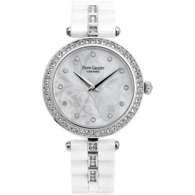 Ladies Pierre Lannier Elegance Ceramic Watch 197F690