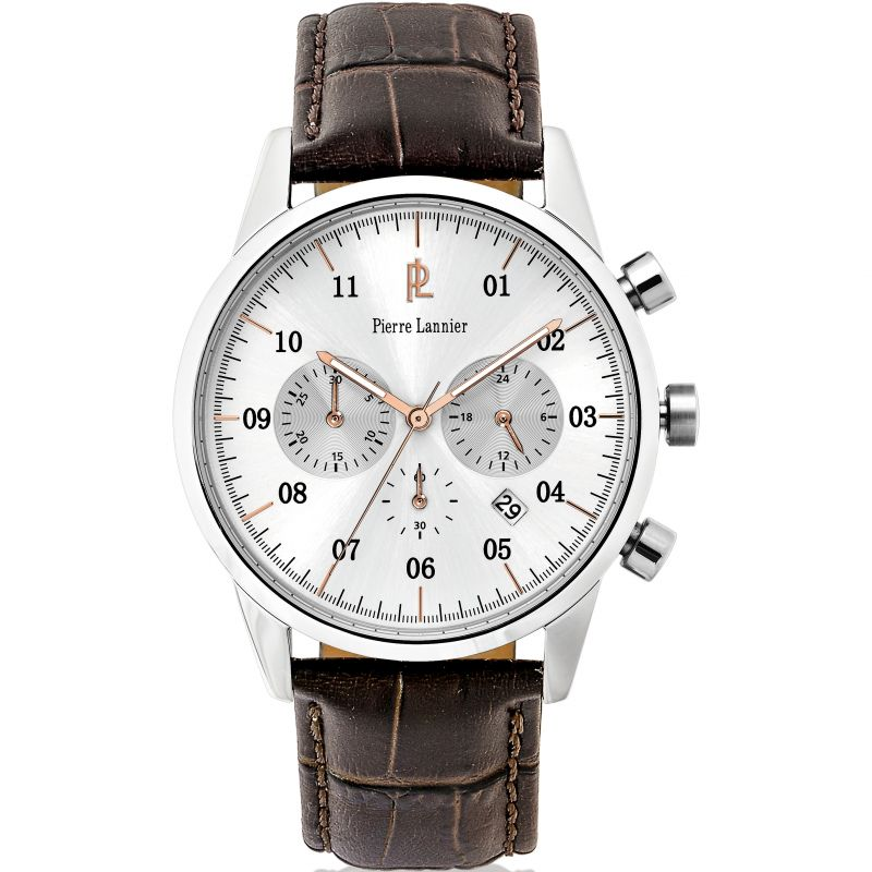 Mens Pierre Lannier Elegance Chrono Chronograph Watch