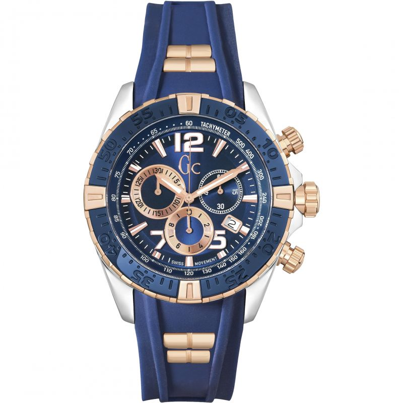 Mens Gc Sportracer Chronograph Watch Y02009G7