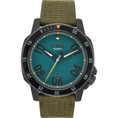 Mens Nixon The Ranger Leather Star Wars Cassian Andor Rogue One Special Edi Watch A508SW-2720