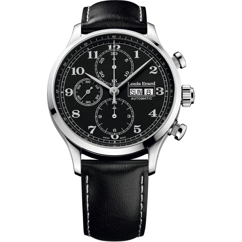 Mens Louis Erard 1931 Limited Edition Limited Edition Automatic Chronograph Watch