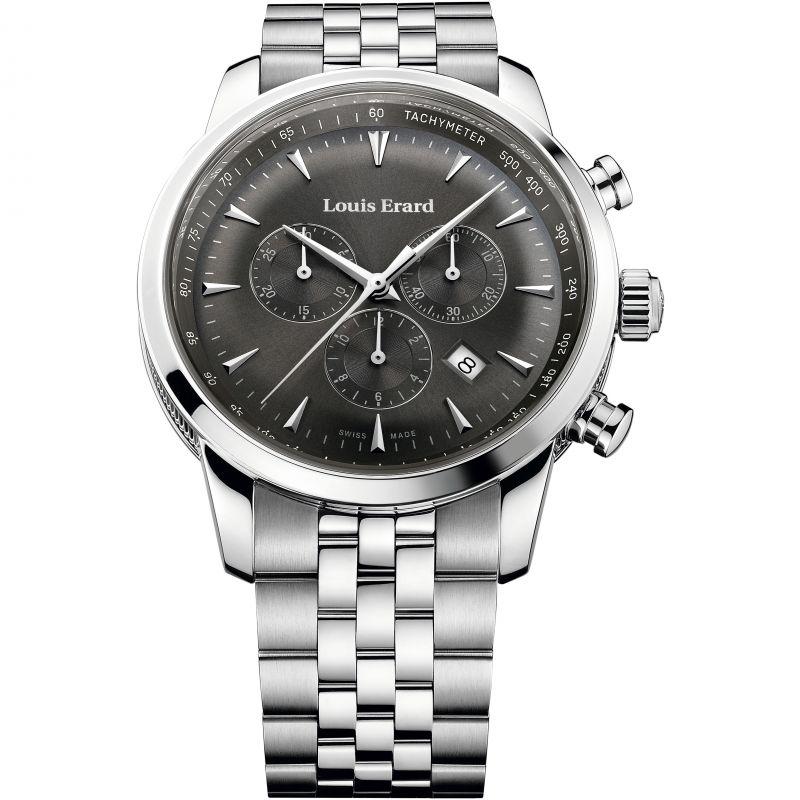 Mens Louis Erard Heritage Chronograph Watch