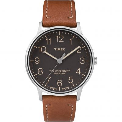 Timex The Waterbury Herrenuhr in Braun TW2P95800