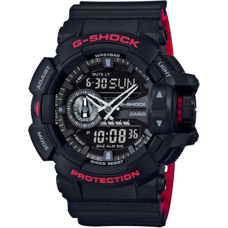 CASIO Uhr | Casio G-Shock Herrenchronograph in Schwarz GA-400HR-1AER