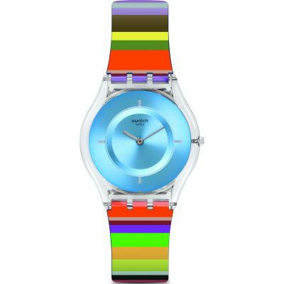 Swatch Skin Classic Pretty Ladder Unisexuhr in Mehrfarbig SFE107
