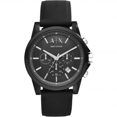 Armani Exchange Herrenchronograph in Schwarz AX1326