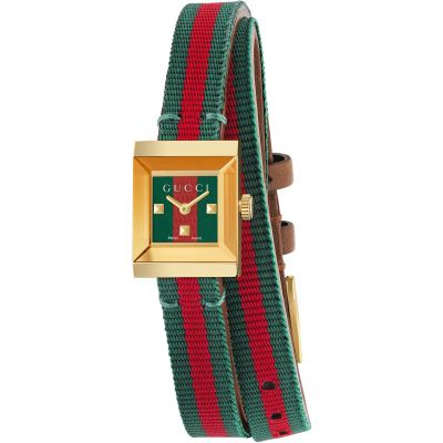 Ladies Gucci G-Frame Square Watch YA128527