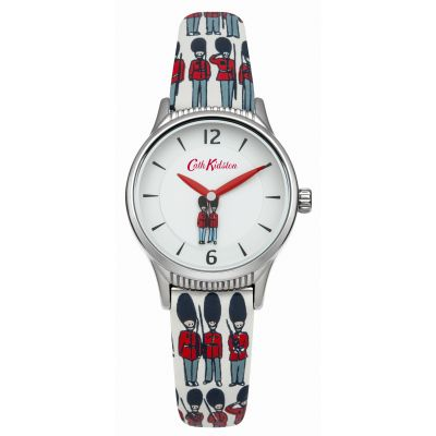Ladies Cath Kidston Guards Rotating Disc Strap Watch CKL011ES