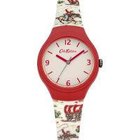 Ladies Cath Kidston Cowboy Silicone Strap Watch CKL023CL