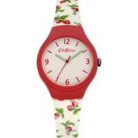 Cath Kidston Strawberries Silicone Strap WATCH