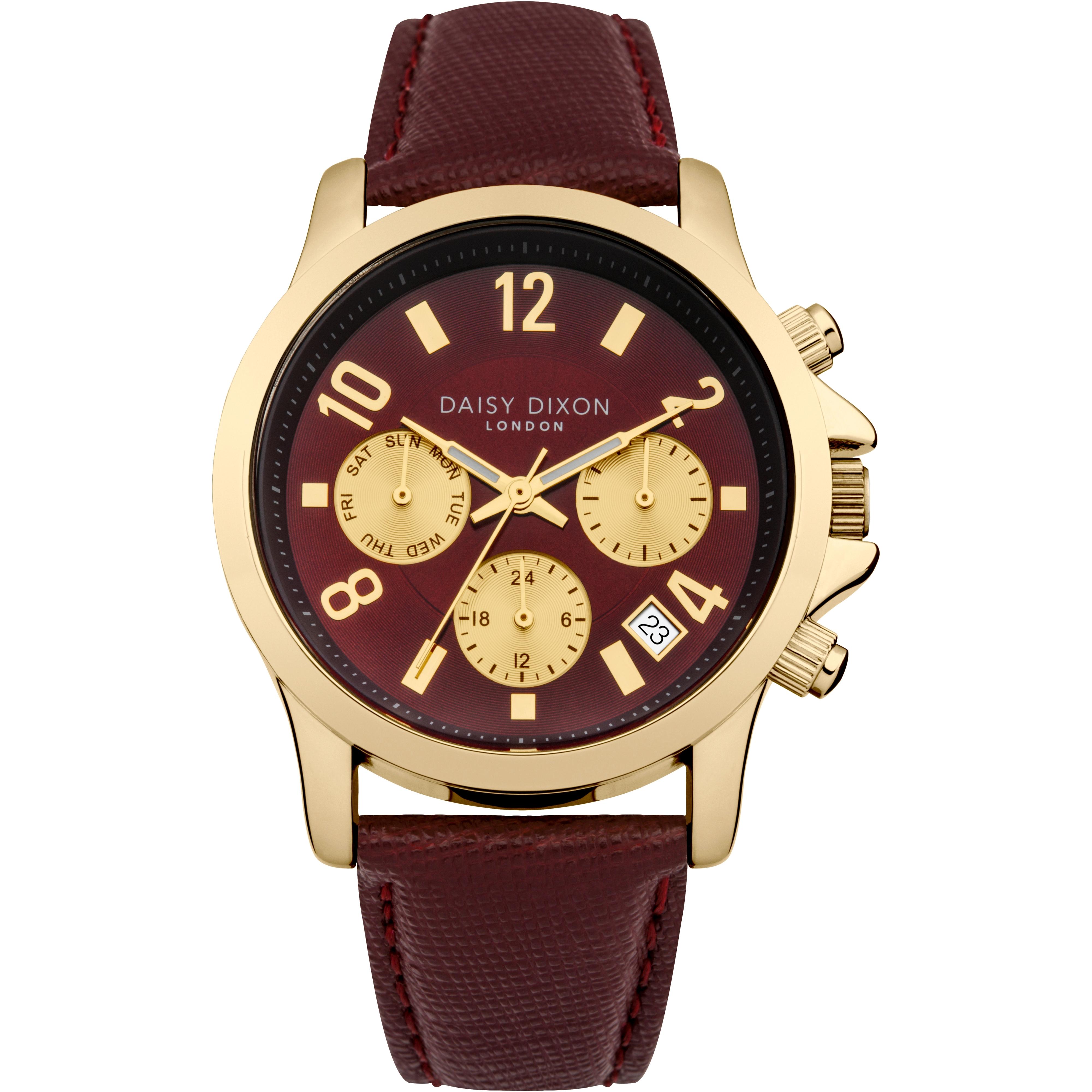 Ladies Daisy Dixon Adriana Chronograph Watch (DD002RRG)  576dc684f4a7