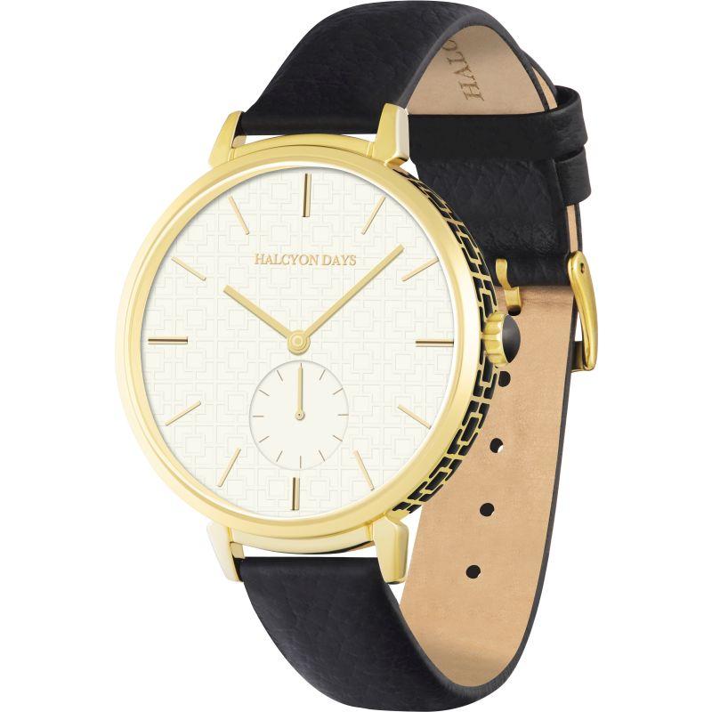 Maya Sport Black & Gold Watch