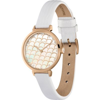 Salamander Sport Cream & Rose Gold Watch