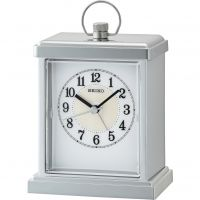 Seiko Clocks Carriage Mantel Alarm Clock QHE148S