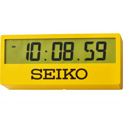 Seiko Clocks Sports Style Desk Alarm Clock QHL073Y