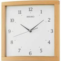 Seiko Clocks Wooden Wall Clock QXA675B