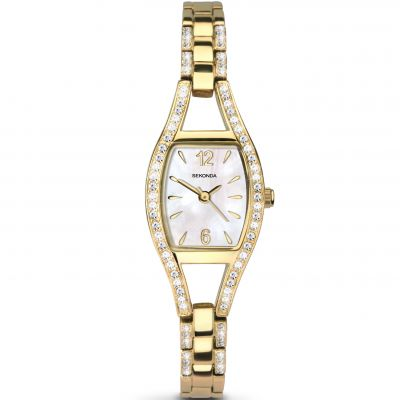 Sekonda Damenuhr in Gold 2392