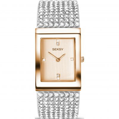 Ladies Seksy Krystal Watch 2376