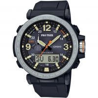 Mens Casio Pro-Trek Alarm Chronograph Watch PRG-600-1ER