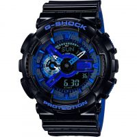 Mens Casio G-Shock Alarm Chronograph Watch GA-110LPA-1AER