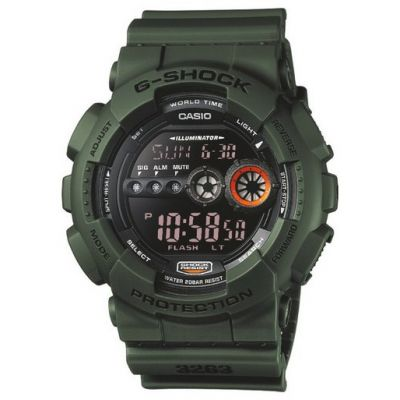 Mens Casio G-Shock Alarm Chronograph Watch GD-100MS-3ER